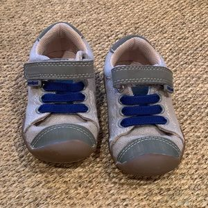 Almost new Pediped canvas sneakers